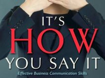"""Barbara's book """"It's HOW You Say It®"""""""